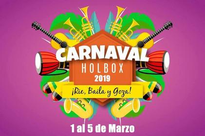 Es tiempo de celebrar, es tiempo de Carnaval... en Holbox