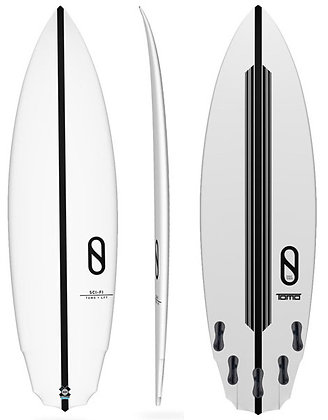 "6'0"" Volume 33.9 liters Slater Designs Sci-Fi"