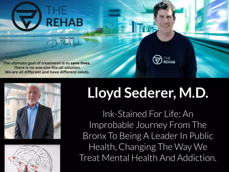 A conversation with Dr. Mark Leeds on 'The Rehab' podcast about the future of addiction treatment