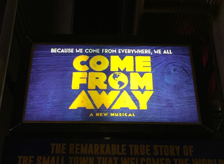 Come From Away: A Broadway Theatre Review By Dr. Lloyd