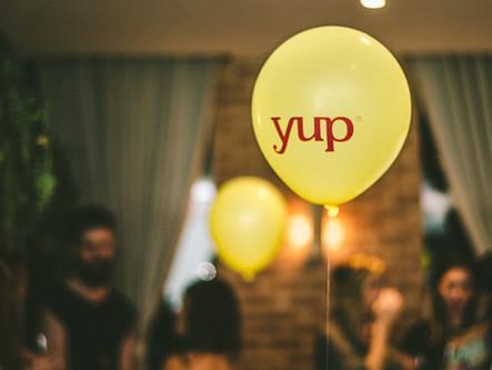Festerê de pré-lançamento da nova marca Yup!