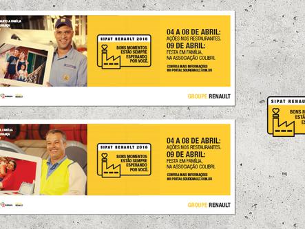 Campanha SIPAT 2016 - Groupe Renault