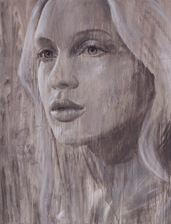 Rone--'The Outlook'-Mixed Media on Canva