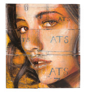 Rone-2014-'Sunflower'-Mixed Media on rec