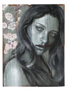 Rone-2014-'Blossom'-Mixed Media on recla