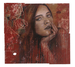 Rone-2014-'Rose Thorn'-Mixed Media on re