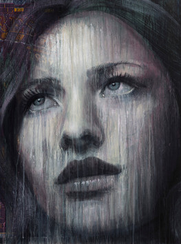Rone-2014-'Untitled'-Mixed Media on Canv