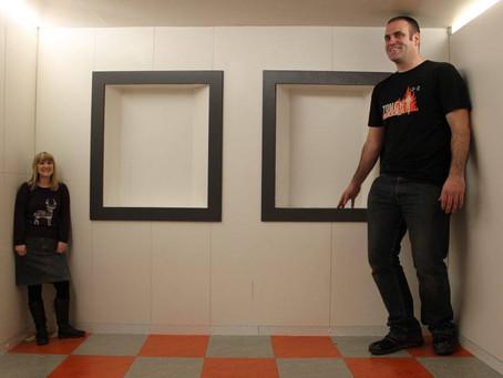 Zanimljiva iluzija - Ejmsova soba