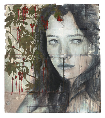 Rone-2014-'Bells'-Mixed Media on reclaim