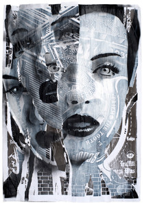 Rone-2011-'Pain & Guilt (i)'-1200mm X 89