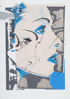 Rone--'Julie [DAMAGED](screenprint)'-3C