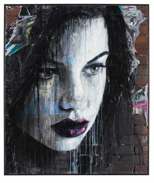 Rone-2012-'Fade to Black'-1200mm X 1400m