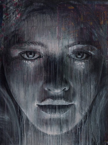 Rone-2014-'It's Over'-Mixed Media on Can