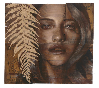Rone-2014-'Silverfern'-Mixed Media on re