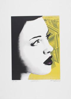 Rone--'Golden (screenprint)'-3C Three Co