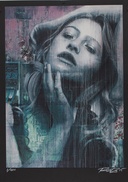 Rone-2015-'Forget The Past (screenprint)