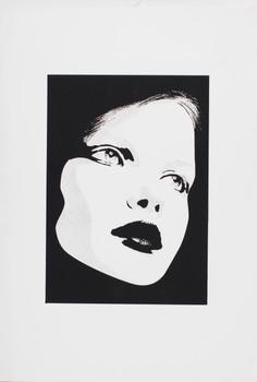 Rone--'Jane Doe (screenprint)'-2C hand p