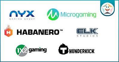 HappiStar(ハッピースター)カジノのゲームソフト画像