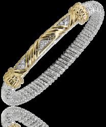 Vahan Criss Cross Diamond Bangle