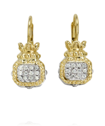 Vahan Classic Diamond Cluster Earrings