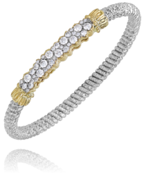 Vahan Pave Diamond Bangle