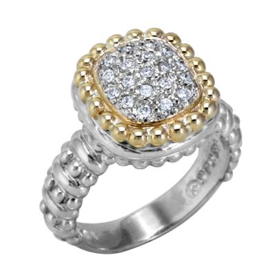 Vahan Diamond Cluster Ring