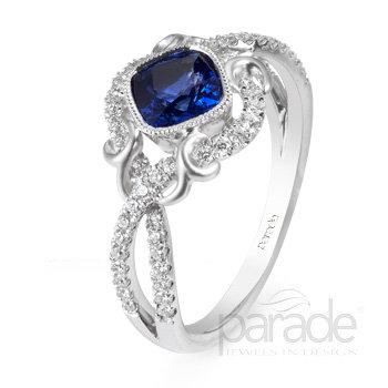 Lyria Vintage Romance Ring