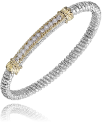 Vahan Diamond Bar Bangle
