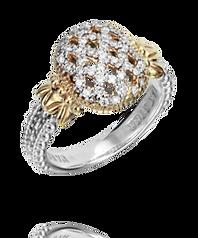 Vahan Weaved Diamond Ring