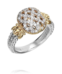 Vahan Weaved Diamond Ring