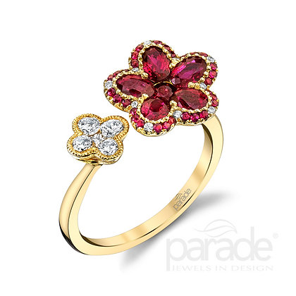Parade In Color Blossom Ring
