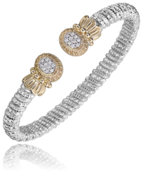 Vahan Oval Diamond Cluster Bangle