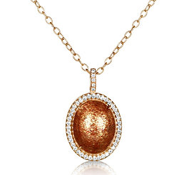 Sunstone Diamond Necklace