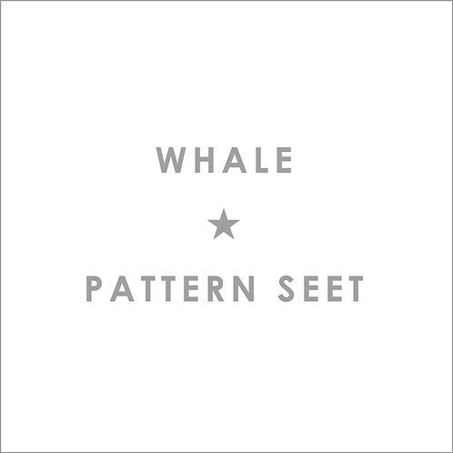 クジラ型紙