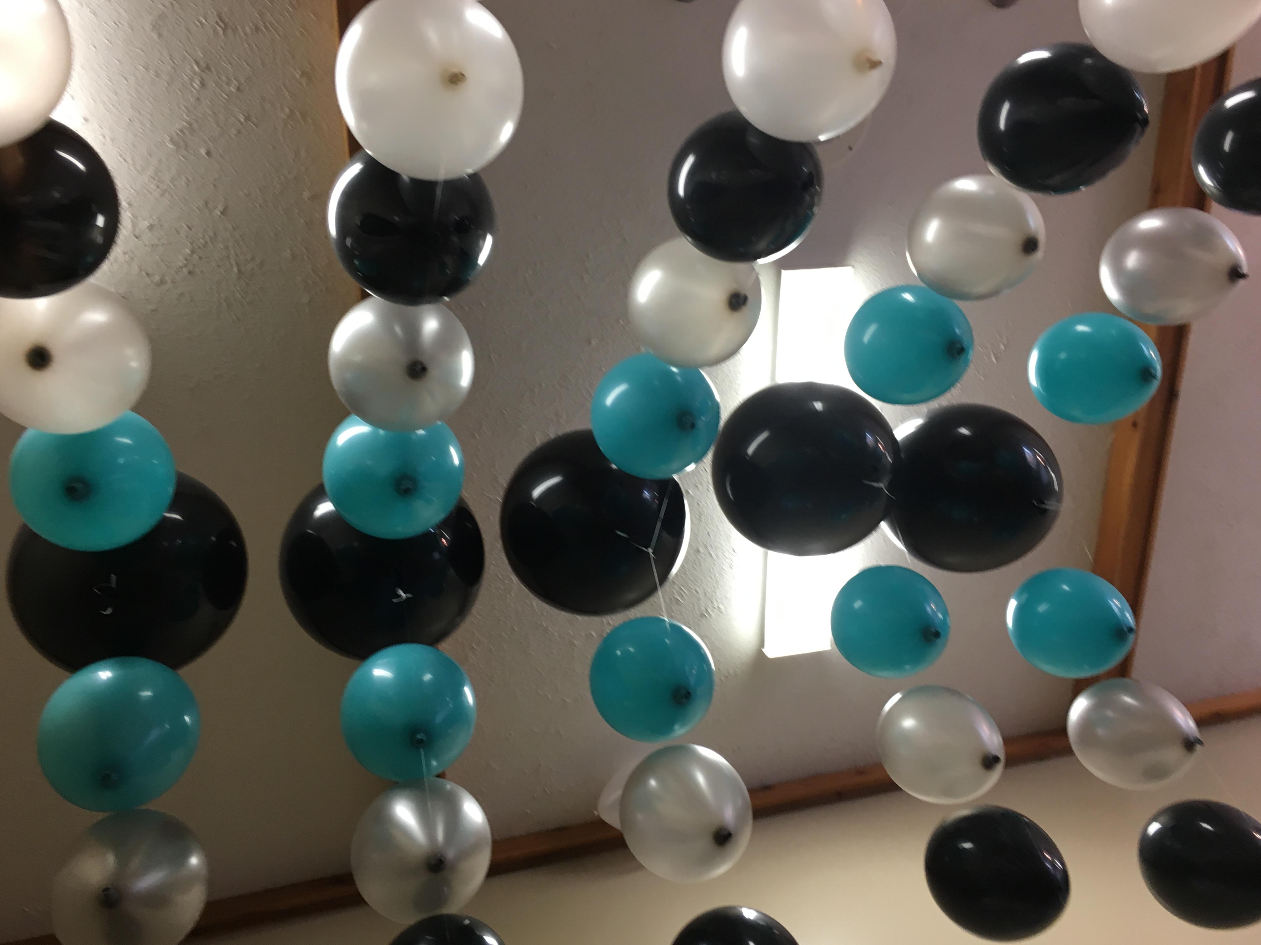 Underside of helium arch