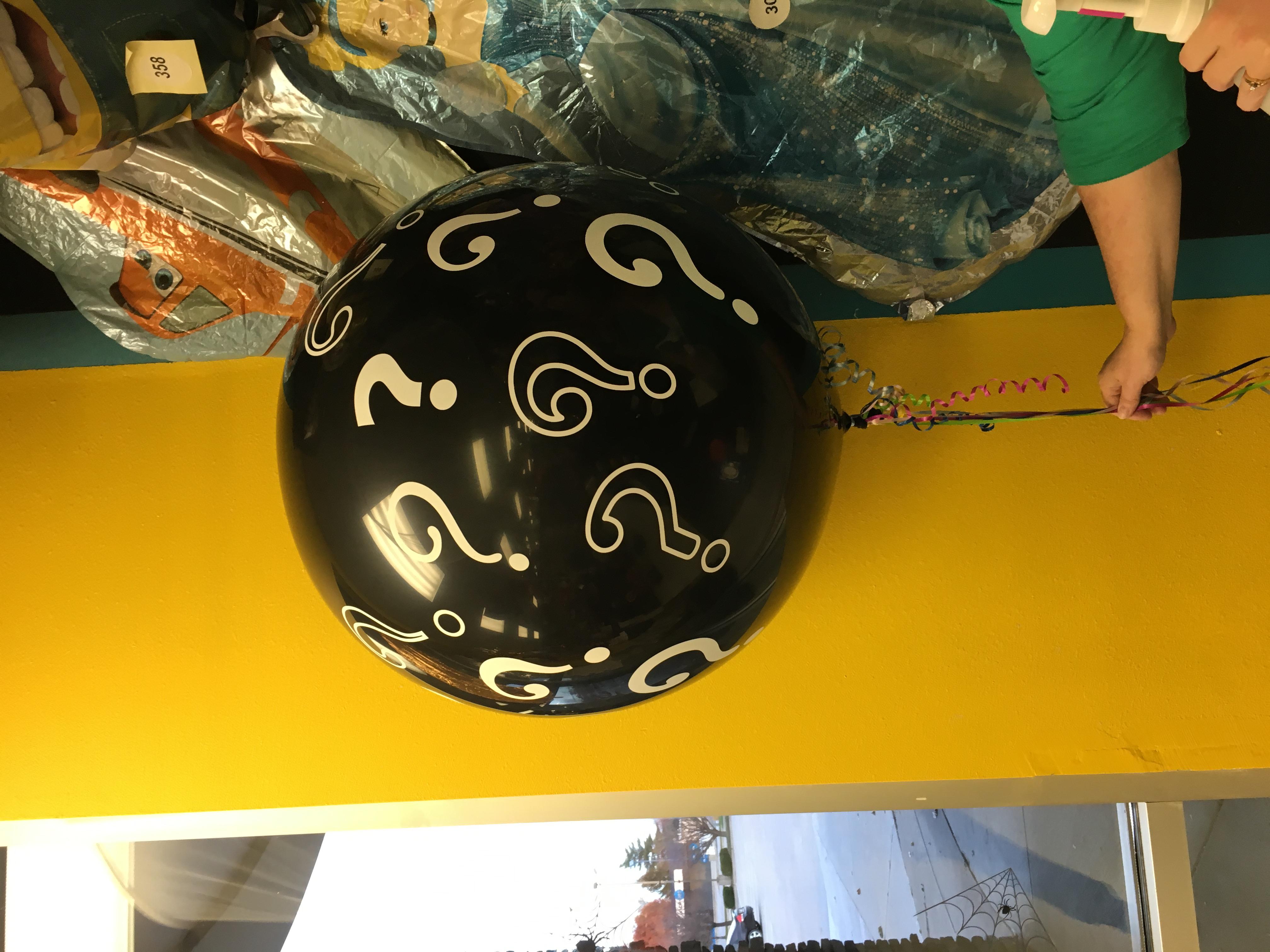 Balloon Reveal Question Mark Balloon