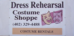 Dress Rehersal Costume shop in Pierce NE