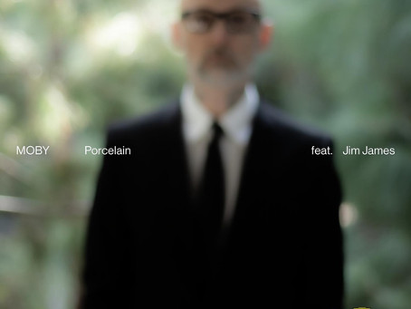 Moby Ft Jim James - Porcelain
