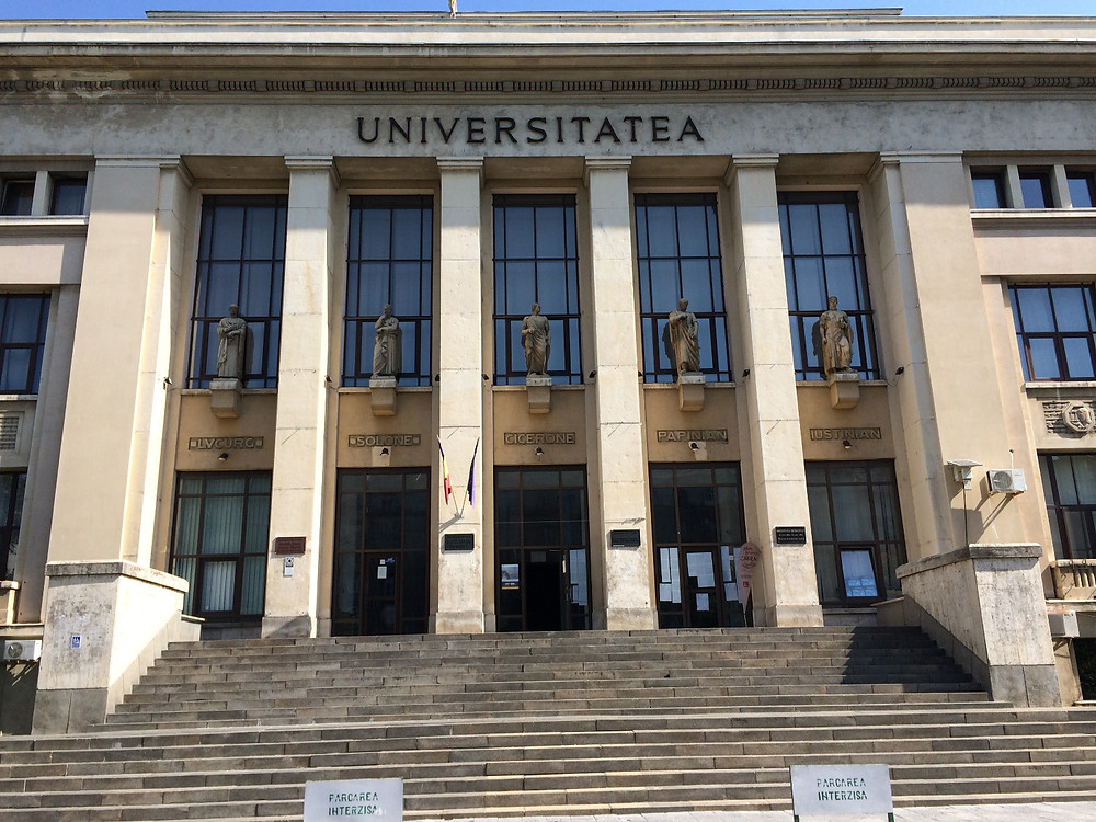 University of Bucharest, where it all took place