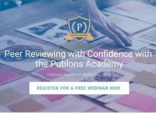 Publons Academy Webinar