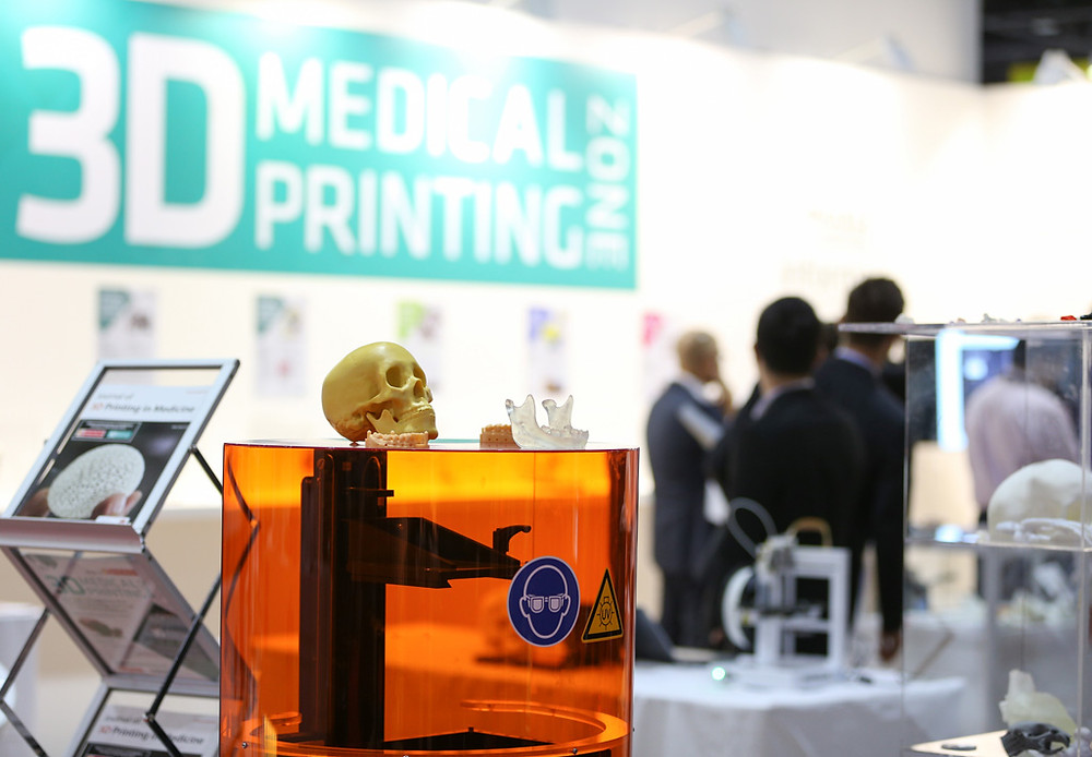 3D medical printing zome