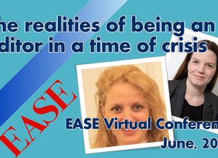 EASE Virtual Conference 2020 session recordings available