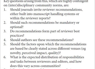 Boon, Bias or Bane - How peer reviewer recommendations effect editor's decisions