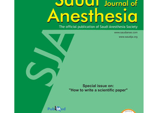 Journal selection article in SJOA