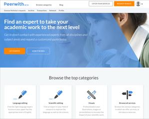 peerwith homepage