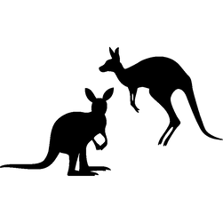 sticker-silhouettes-kangourou-ambiance-s