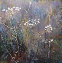 Winter Morning - acrylic on canvas