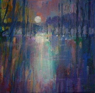 Moon Magic - acrylic