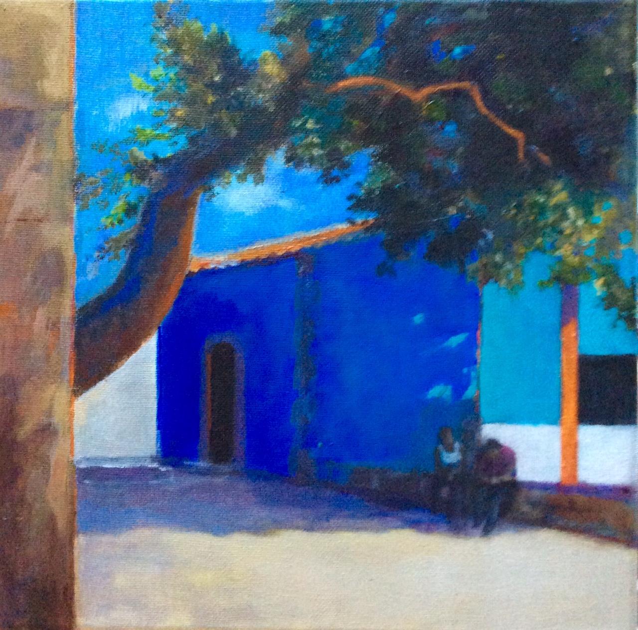 Marzamemi, Sicily - acrylic on canvas