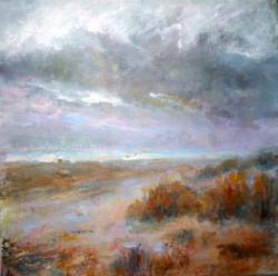 Norfolk Dunes - acrylic